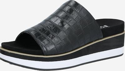 BULLBOXER Pantolette 'Slipper' in schwarz, Produktansicht
