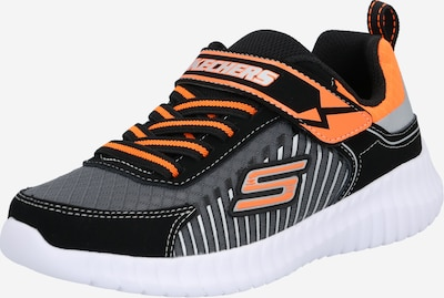SKECHERS Baskets 'Elite Flex - Spectropulse' en gris / orange / noir, Vue avec produit