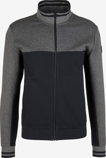 s.Oliver Jacke in grau / schwarz, Produktansicht