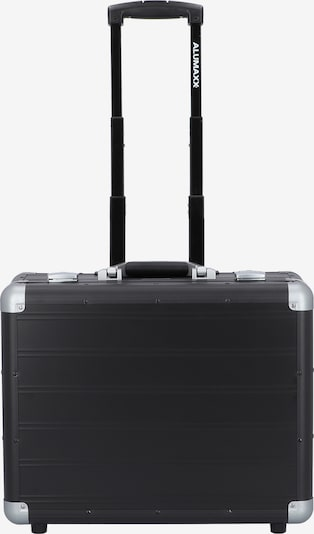 ALUMAXX Trolley in schwarz / silber, Produktansicht