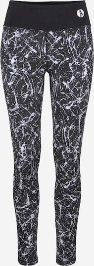 LASCANA Leggings in dunkelgrau / schwarz, Produktansicht