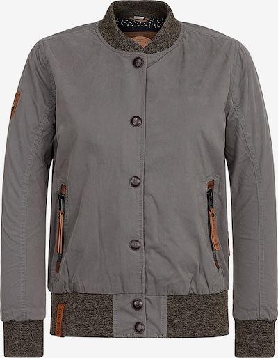 naketano Veste mi-saison en marron / gris, Vue avec produit