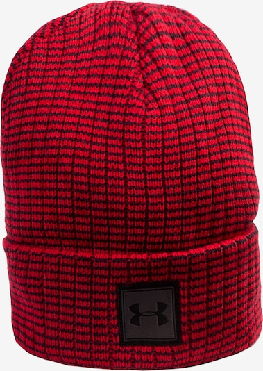 UNDER ARMOUR Beanie 'Truckstop 2.0' in rot / schwarz, Produktansicht
