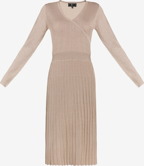 faina Strickkleid in beige, Produktansicht