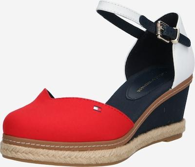 TOMMY HILFIGER Sandale 'ELBA 67D' in dunkelblau / rot / weiß, Produktansicht
