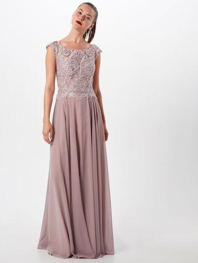 LUXUAR Abendkleid in puder, Modelansicht