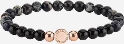 Liebeskind Berlin Armband in de kleur Rose-goud / Zwart, Productweergave