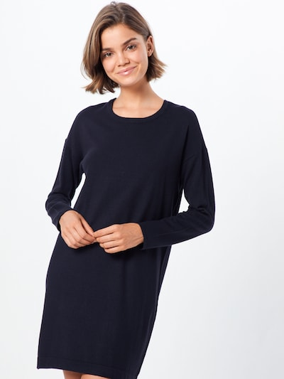 VERO MODA Strickkleid 'Happy' in schwarz, Modelansicht