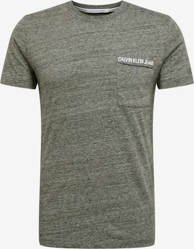 Calvin Klein Jeans T-Shirt in grau, Produktansicht