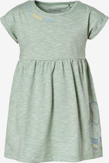 STACCATO Shirt in blau / gelb / grünmeliert / weiß, Produktansicht