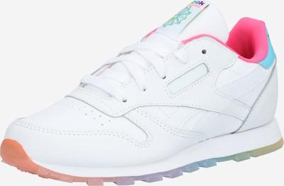 Reebok Classic Sneaker 'CLASSIC LEATHER' in blau / pink / weiß, Produktansicht
