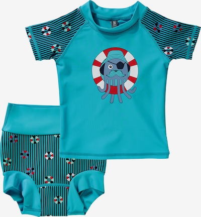 COLOR KIDS Schwimmanzug 'EDY' in blau, Produktansicht