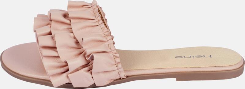 heine Pantolette mit Rüschen