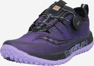 saucony Laufschuh 'SWITCHBACK ISO ' in lila / schwarz, Produktansicht