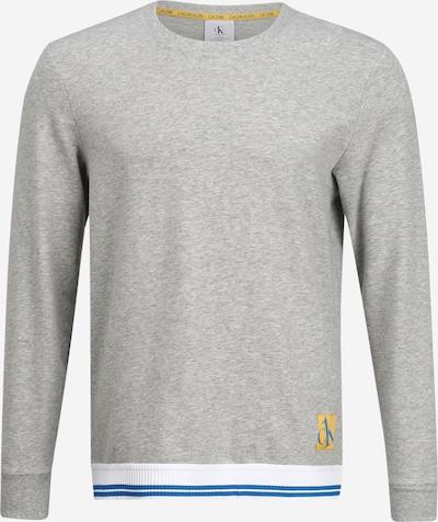 Ilga pižama iš Calvin Klein Underwear , spalva - mėlyna / geltona / margai pilka / balta, Prekių apžvalga
