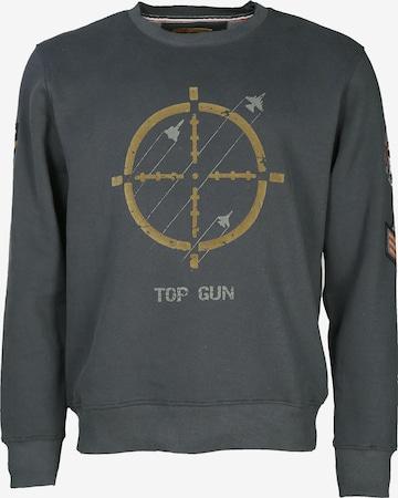TOP GUN Sweater 'TG-9011' in Grün