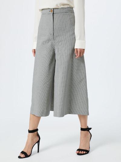 McQ Alexander McQueen Kalhoty - černá / bílá, Model/ka