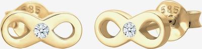 Diamore Ohrringe 'Infinity' in gold, Produktansicht