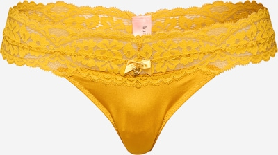Hunkemöller String 'Marina' in de kleur Geel / Goud, Productweergave