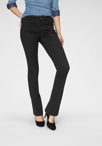 ARIZONA Jeans 'Baby-Boot' in Black