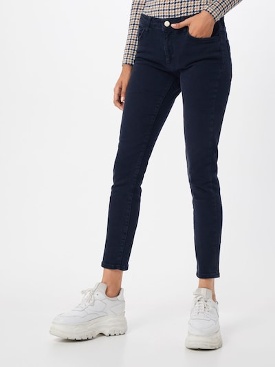 Jeans Rich & Royal pe denim albastru: Privire frontală