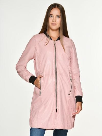Maze Mantel 'Louisiana' in pink, Modelansicht