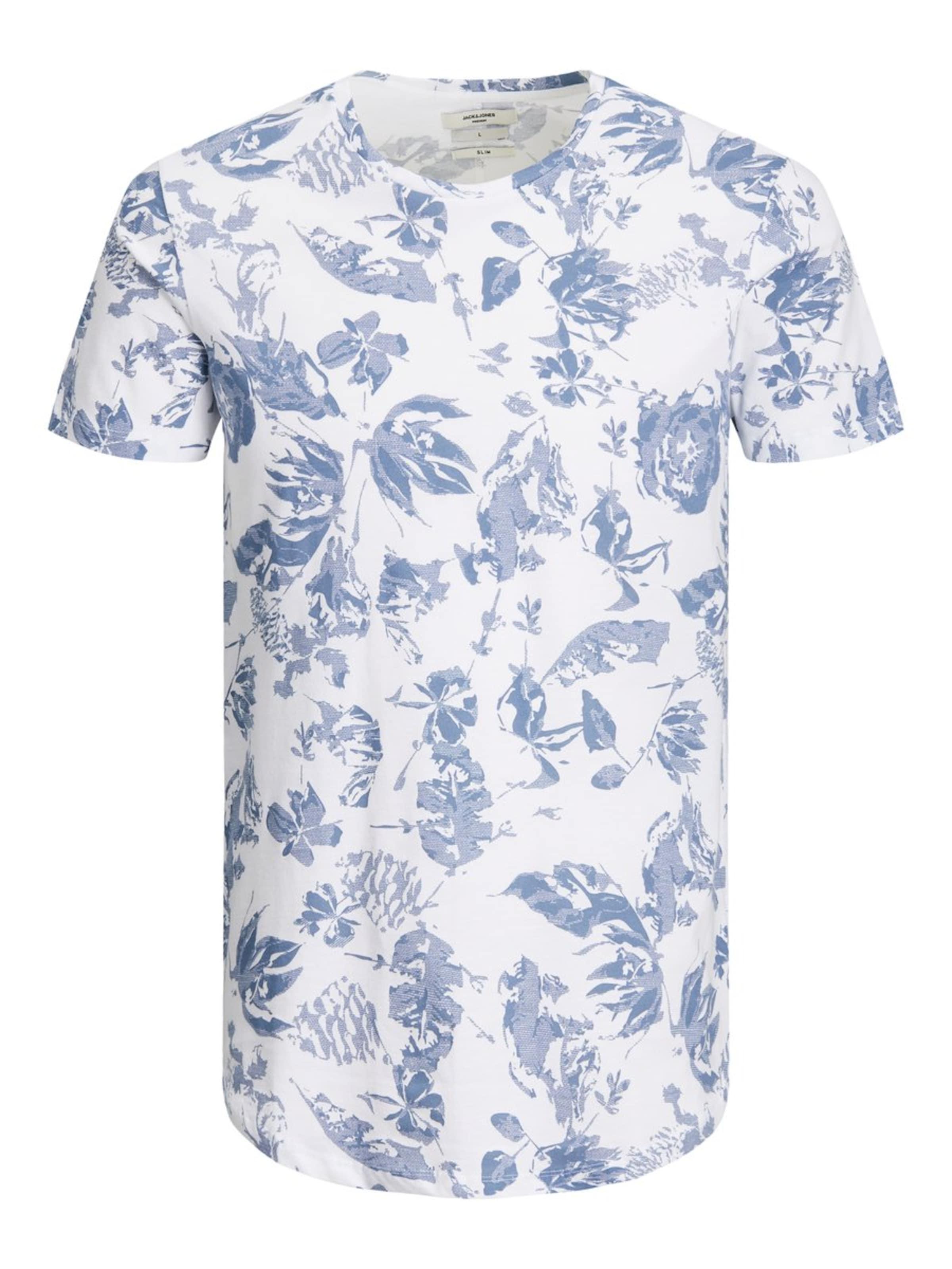 In T Jackamp; shirt RauchblauWeiß Jones 34Ajq5RL