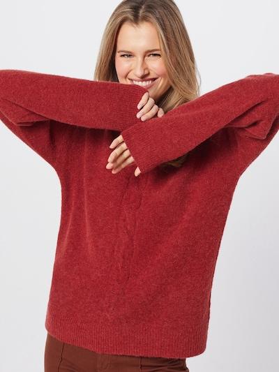 Cream Pullover 'Mynthe' in merlot, Modelansicht