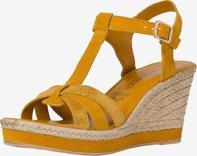 MARCO TOZZI Sandalette in gelb, Produktansicht