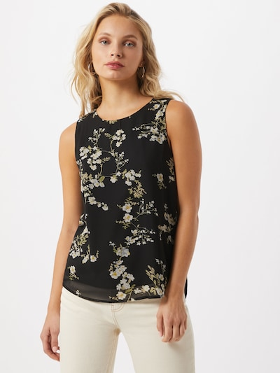 ONLY Bluza 'Alyssa' u zelena / crna / bijela, Prikaz modela
