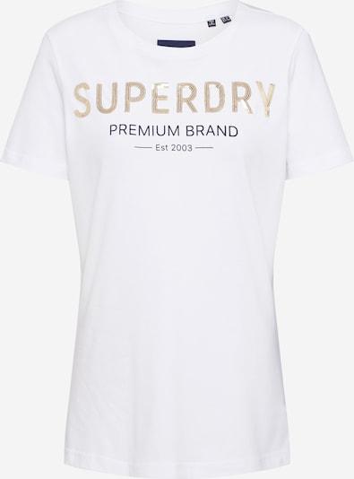 Superdry Majica 'PREMIUM SEQUIN ENTRY TEE' u bijela, Pregled proizvoda