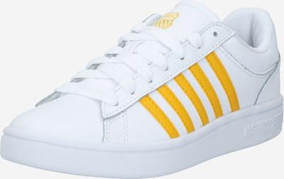K-SWISS Sneaker 'Court Winston' in goldgelb / weiß, Produktansicht