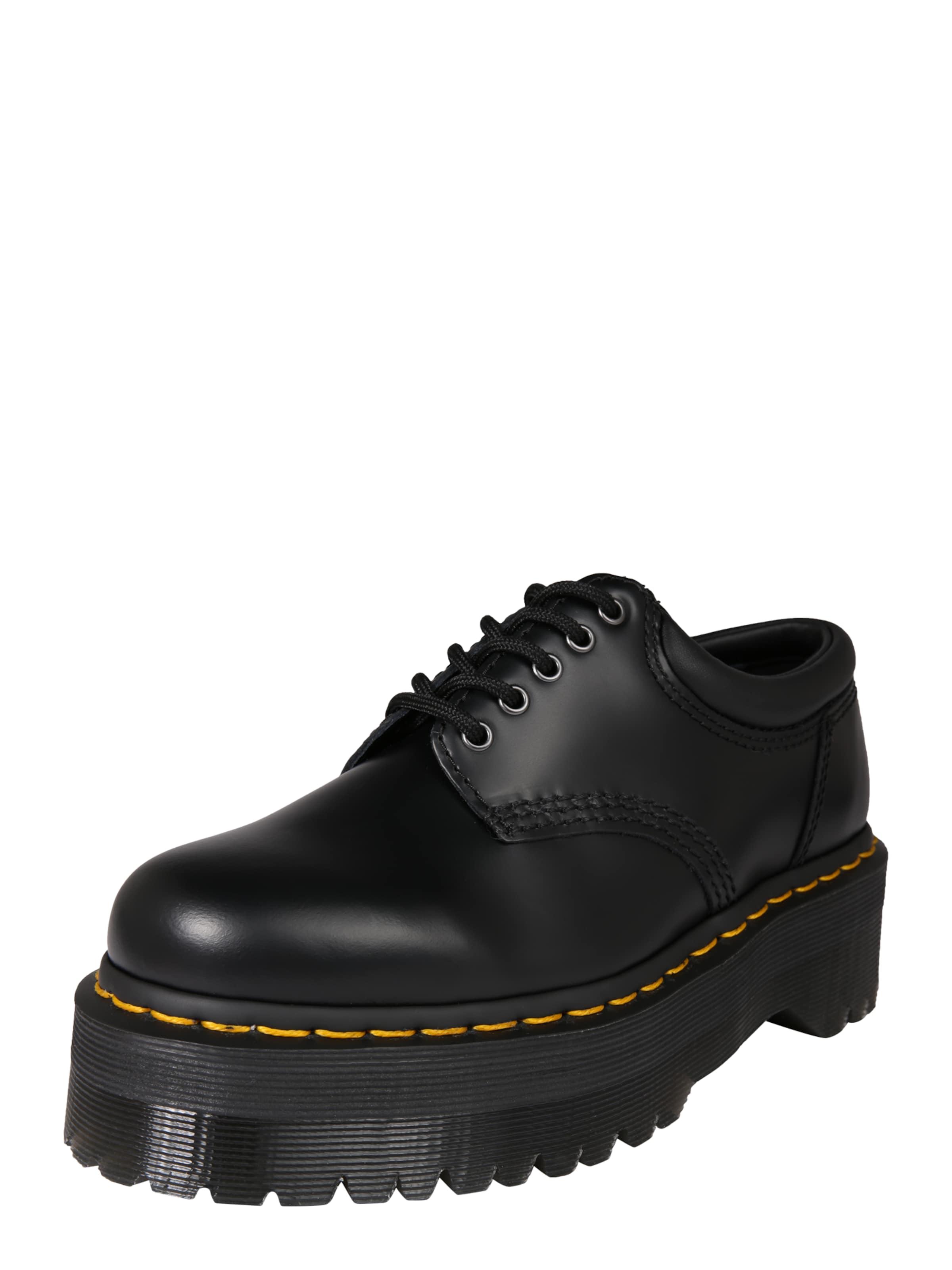 À Dr Chaussure Martens En 8053' '5 Tie Lacets Noir Shoe EEFRrnq