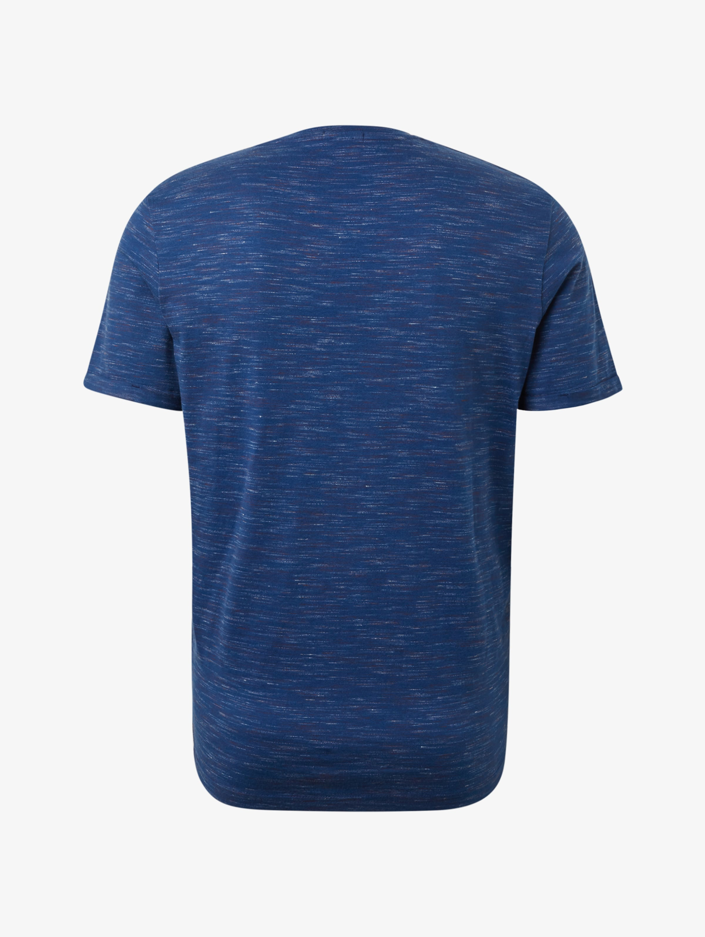 In Tailor Blaumeliert shirt T Tom nZO0P8XNwk