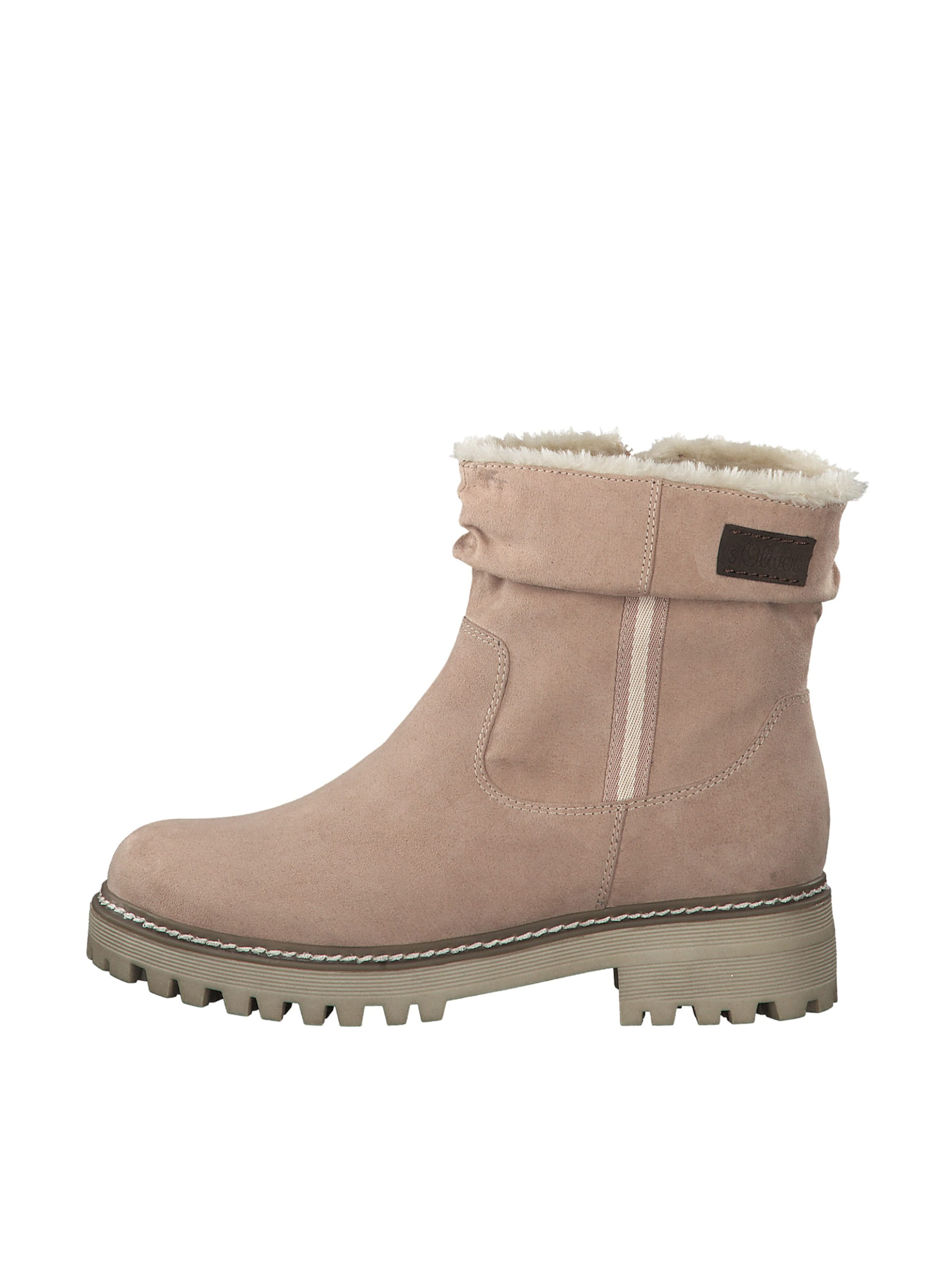 Label Red Stiefel In oliver Beige S kXiTPOuZ