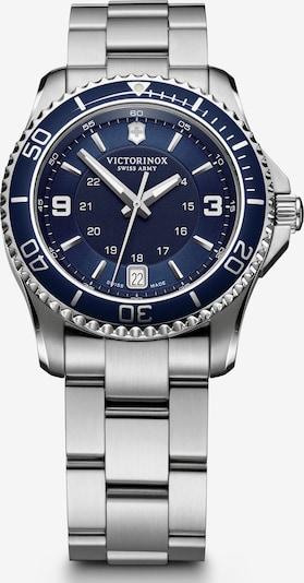 VICTORINOX Analoog horloge 'Maverick Small' in de kleur Nachtblauw / Zilver, Productweergave