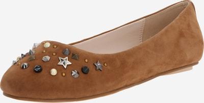 Papuci de casă 'MILAN' BUFFALO pe coniac, Vizualizare produs