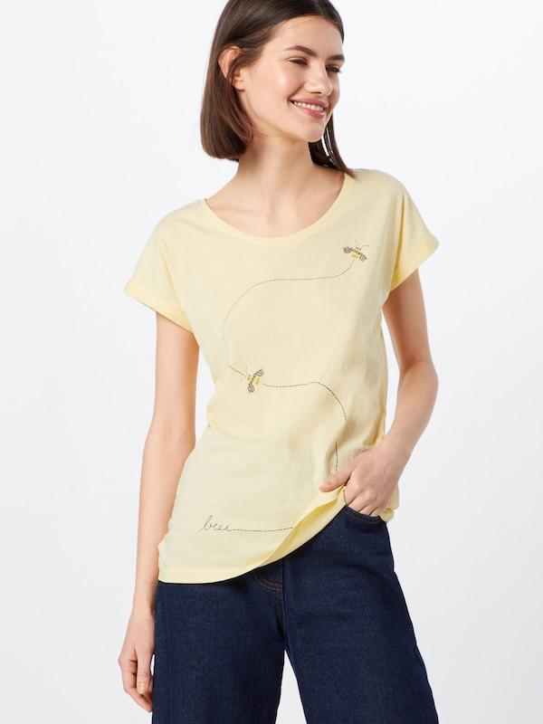 Flying Armedangels T En shirt Bee' 'livaa Jaune 0kXPN8wOn
