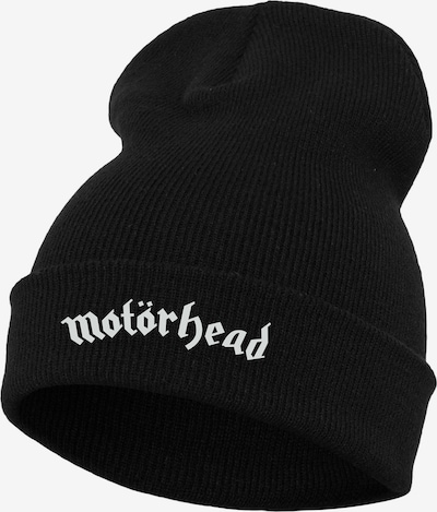 Urban Classics Bonnet 'Motörhead' en noir / blanc, Vue avec produit