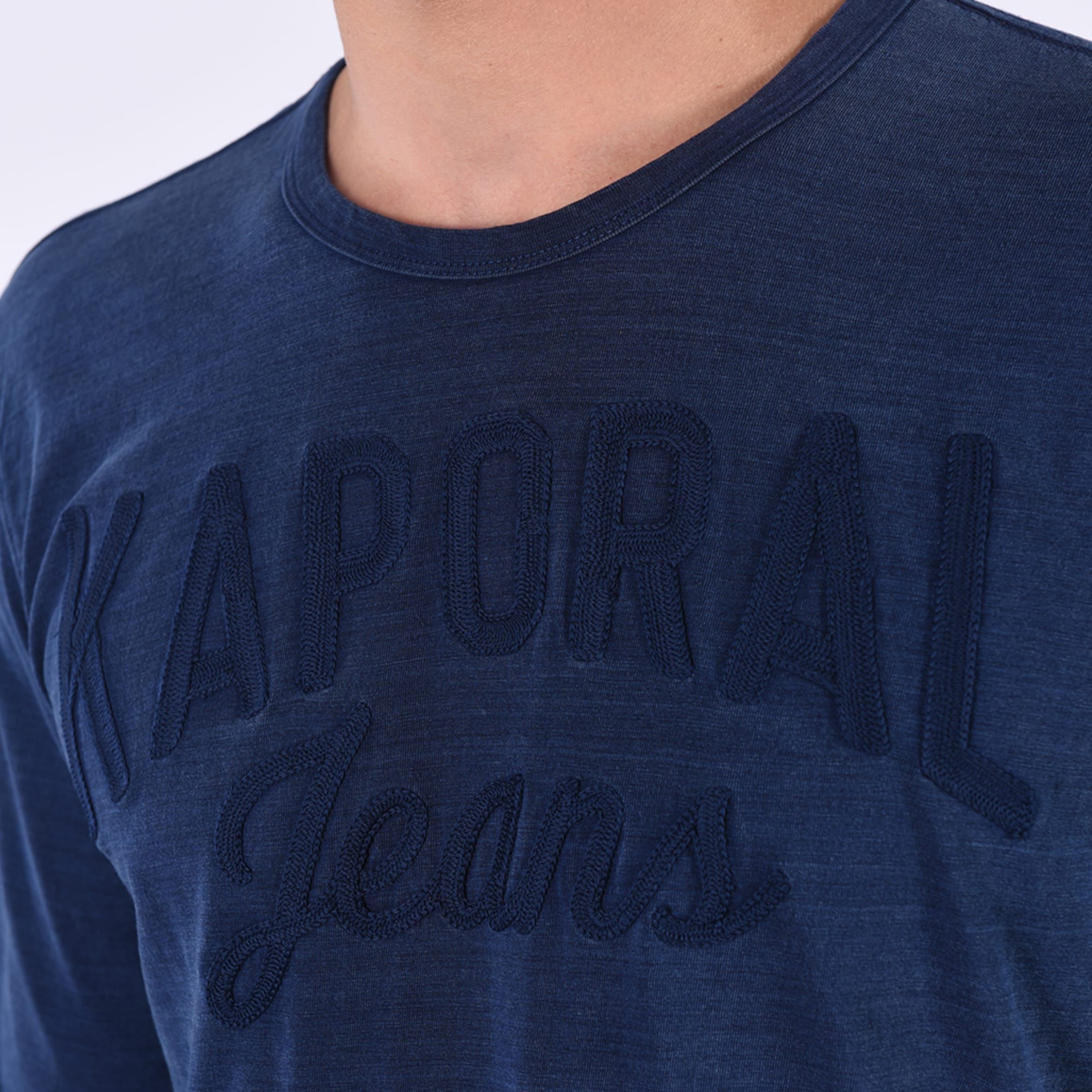 'bango' Kaporal 'bango' Shirt In Blaumeliert 'bango' In Blaumeliert Kaporal Shirt Shirt Kaporal xhdsrtQC