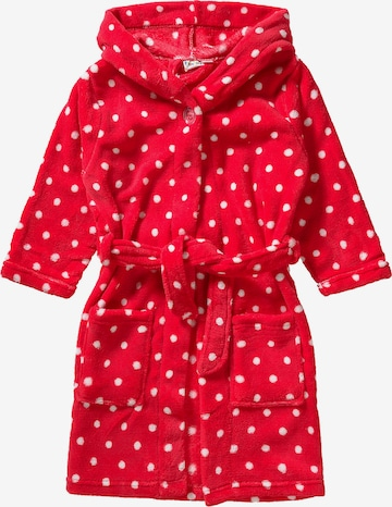 PLAYSHOES Bathrobe in Red
