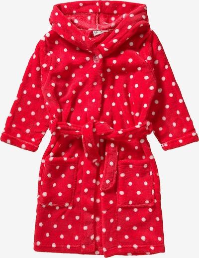 PLAYSHOES Fleece-Bademantel in rot, Produktansicht