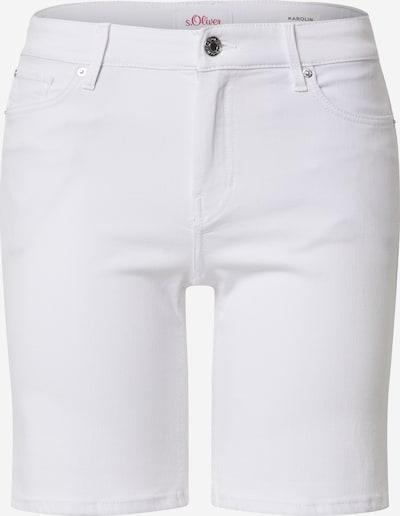 s.Oliver Shorts 'KAROLIN' in white denim, Produktansicht