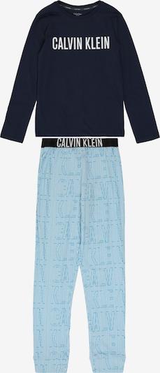 Calvin Klein Underwear Schlafanzug in hellblau / dunkelblau, Produktansicht