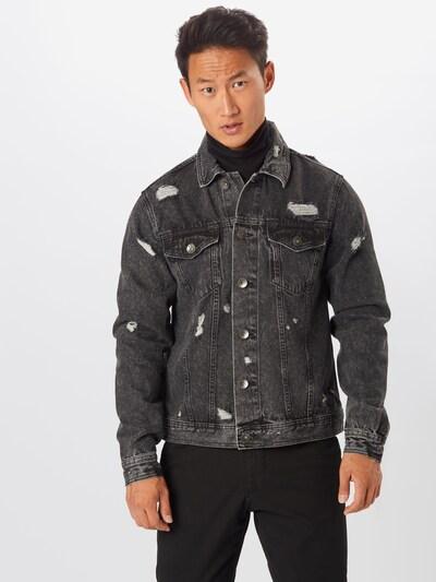 Redefined Rebel Prechodná bunda 'Barney' - sivý denim, Model/-ka