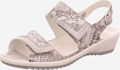 WALDLÄUFER Sandale in grau / taupe, Produktansicht