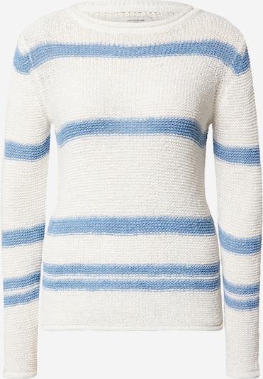 JACQUELINE de YONG Svetr 'Michelle' - modrá / bílá, Produkt
