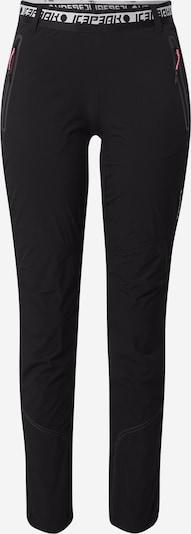 ICEPEAK Sportovní kalhoty - černá, Produkt