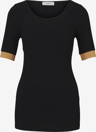 heine T-Shirt in orange / schwarz, Produktansicht