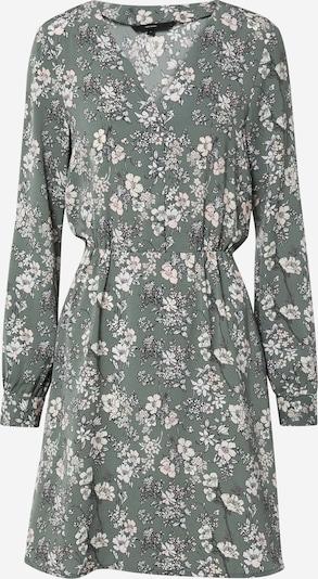 VERO MODA Košilové šaty 'Diana' - zelená / pastelově růžová / bílá, Produkt